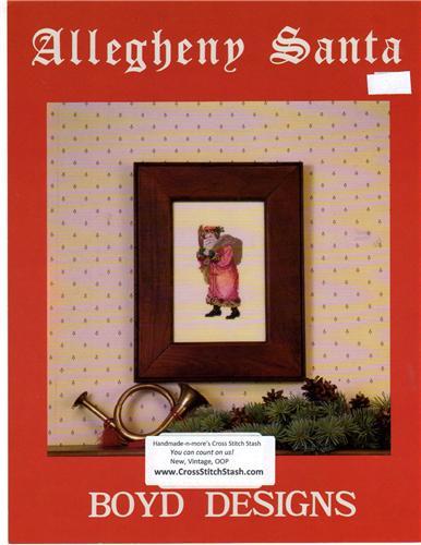Boyd Designs Allegheny Santa Cross Stitch Stash