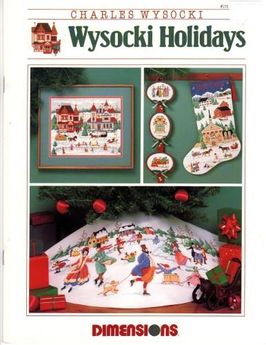 Dimensions Wysocki Holidays Charles Wysocki Cross Stitch