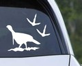 Turkey With Tracks Hunting Decal.jpeg