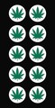 Weed Cannabis Marijuana Rastafarian Hemp Decal.jpeg