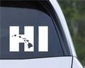 HI Hawaiian Islands Vinyl Window Decal Car Bumper Sticker Free Shipping Hawaii.jpeg