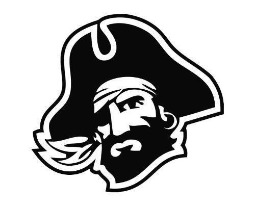 Pirate Head Ver I Blk