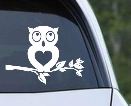 Owl 10 - Heart Tree Branch
