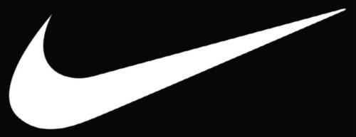 Shoe fashion logos - Set Of 2 Nike Swoosh Vinyl Decal Sticker