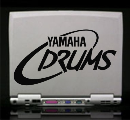 These decals is made to last 8 10 years with hi for Yamaha bass drum decal