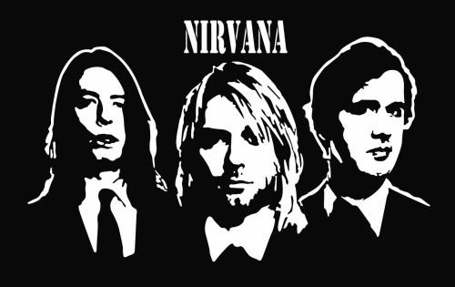 логотип нирвана: