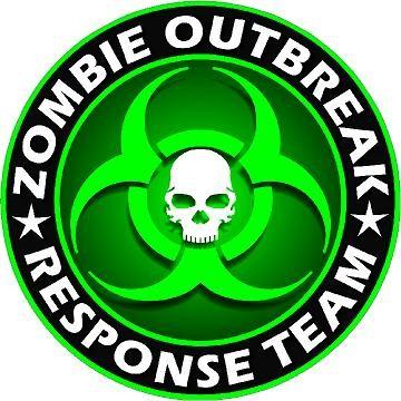Zombie Outbreak Green Jpeg