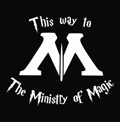 Harry Potter This Way To The Ministry Of Magic Jpeg