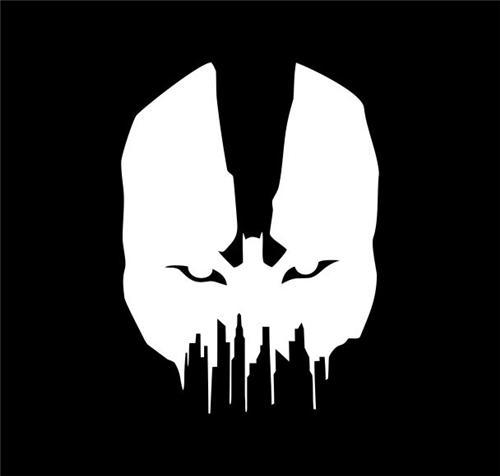 Bane Batman The Dark Knight Rises Bane Gotham Die Cut Vinyl - Batman vinyl decal stickers