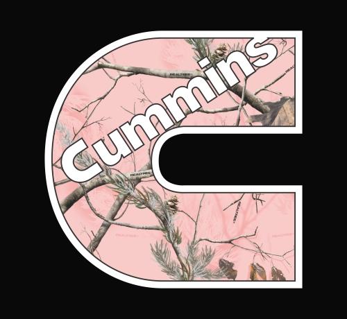 Dodge Cummins Sayings Cummins - realtree.jpeg