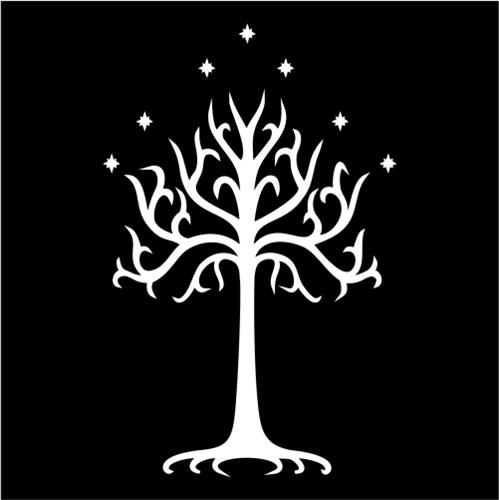 Lord Of The Rings White Tree Of Gondor Jpeg
