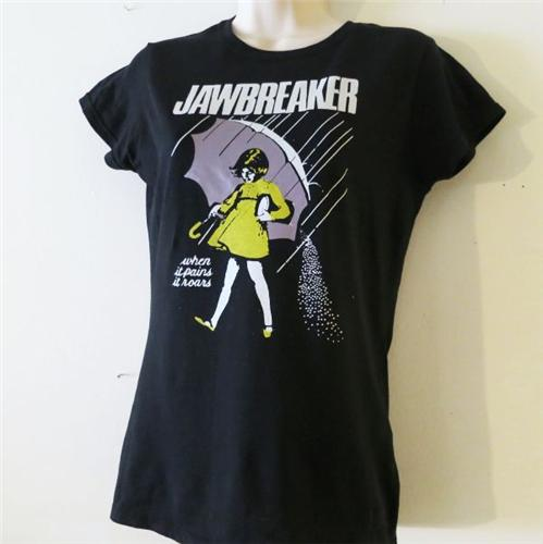Jawbreaker T shirt tee short sleeve morton salt girl when ... |Morton Salt Jawbreaker