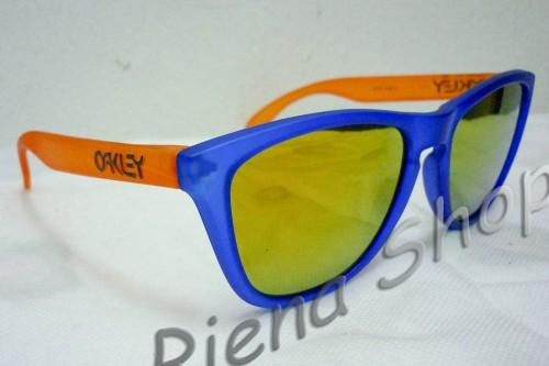 Oakley Frogskins Collectors Edition Blacklight Blue