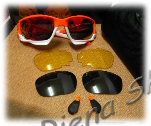 Oakley Jawbone Livestrong Orange White Fire Iridium