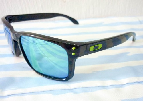 oakley motogp holbrook sunglasses  oakley holbrook motogp polished black emerald iridium polarized lens