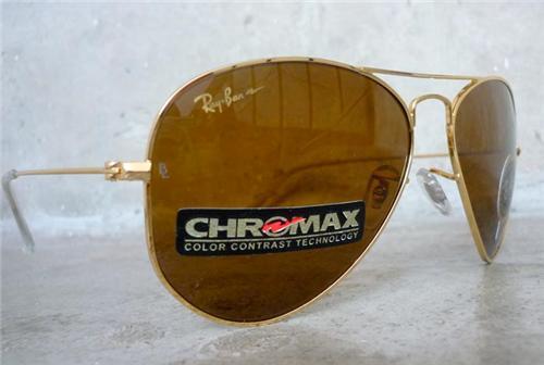 ray ban chromax lens