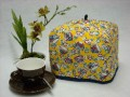 Tea Cozy (Standard) - Teacups on Screaming Yellow by OneMark Creations