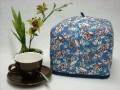 Tea Cozy (Personal) - Teacups on Blue Jay