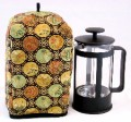 Standard Size French Press Cozy - Imperial Black - by OneMark Creations
