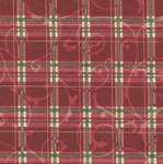 Stand Mixer Cover - Holiday Plaid - Red by OneMark Creations