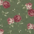 Toaster Cover - Maywood Roses - Green by OneMark Creations