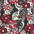 Stand Mixer Cover - Black White and Red All Over by OneMark Creations