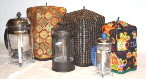French Press Cozy by OneMark Creations