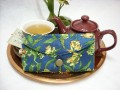 Tea Bag Travel Wallet - Large - Frogs by OneMark Creations