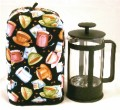 French Press Cozy - Jumpin Java Coffee Cups by OneMark Creations.jpeg