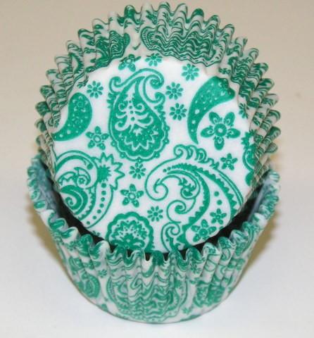 Green Paisley Cupcake Cups.jpeg