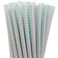 Baby Blue Chevron Paper Straws.jpeg