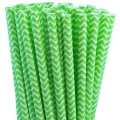 Lime Green Chevron Paper Straws.jpeg