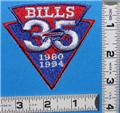 BUFFALO BILLS 35th ANNIVERSARY NFL FOOTBALL CREST PATCH