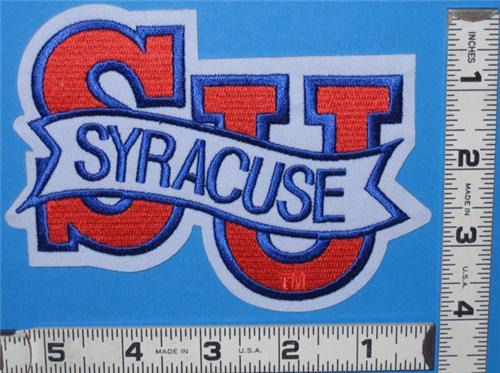SYRACUSE ORANGEMEN NCAA COLLEGE UNIVERSITY CREST PATCH