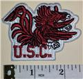 USC GAMECOCKS NCAA FOOTBALL SOUTH CAROLINA DIVISION FBS COLLEGE UNIVERSITY PATCH