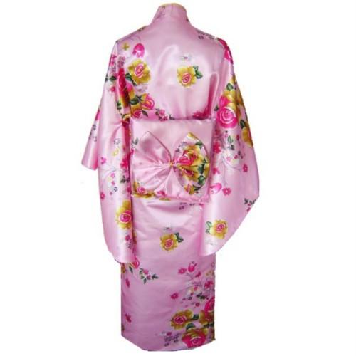 Details about Red Traditional Yukata Japanese Kimono Costume DressTraditional Yukata