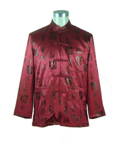 Men's Chinese Mandarin Jacket Kung fu Tai chi Costume TM66
