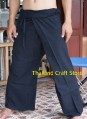 Thai Fisherman Pants Trousers Tai Chi Kung Fu Yoga Capoeira Hippie Boho FL01