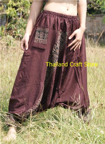 Ethnic Afghan Harem Baggy Pants Trousers Yoga Dance Boho Hippie Genie Aladdin MT07