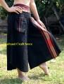 Vintage Retro Style Wide Leg Palazzo Pants Trousers Yoga Bohemian Hippie NK01