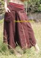 Vintage Retro Style Wide Leg Palazzo Pants Trousers Yoga Bohemian Hippie NK02