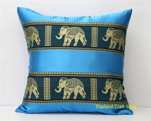Thai Silk Decorative Cushion Pillow Cover Case