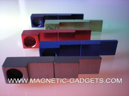 Neodymium magnetic click pipe