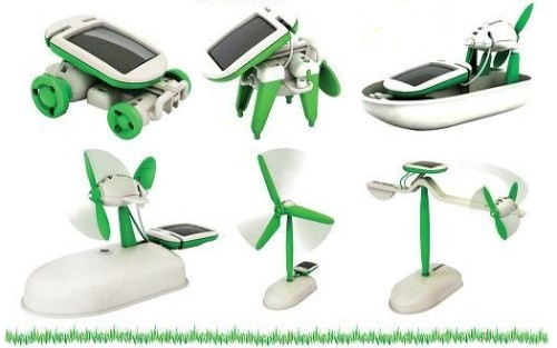 Robot Kit 6 in 1 Educational DIY Solar  Project