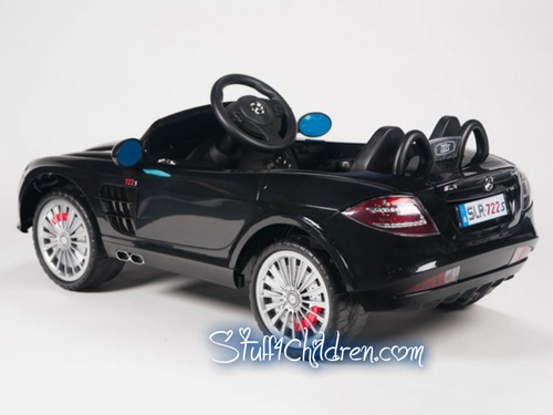 licensed mercedes slr722 kids electric cars cars for kids toddlers ride on