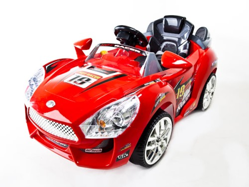 639r kids ride on car hot racer 19 battery operated remote control mp3 red