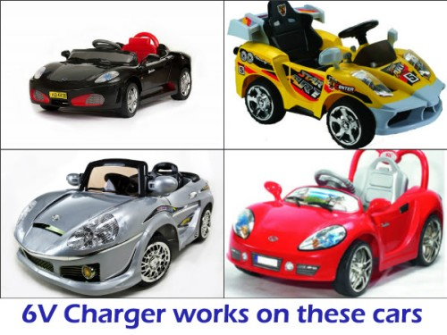 f0f5521f 6V, Replacement Battery Charger, Kids Car, Battery Operated Ride on ...