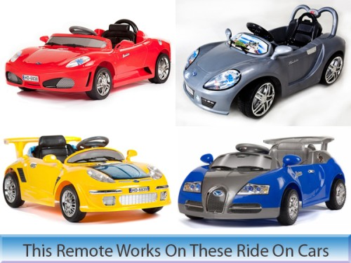 if you dont see your model listed let us know we stock several other models of remote controls for ride on kids cars
