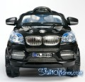 WM BMW Autobahn X8 Kids ride on car black front.jpeg
