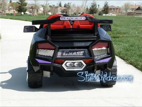 mini motos lamborghini style super car kids electric battery powered riding toy car rc mp3